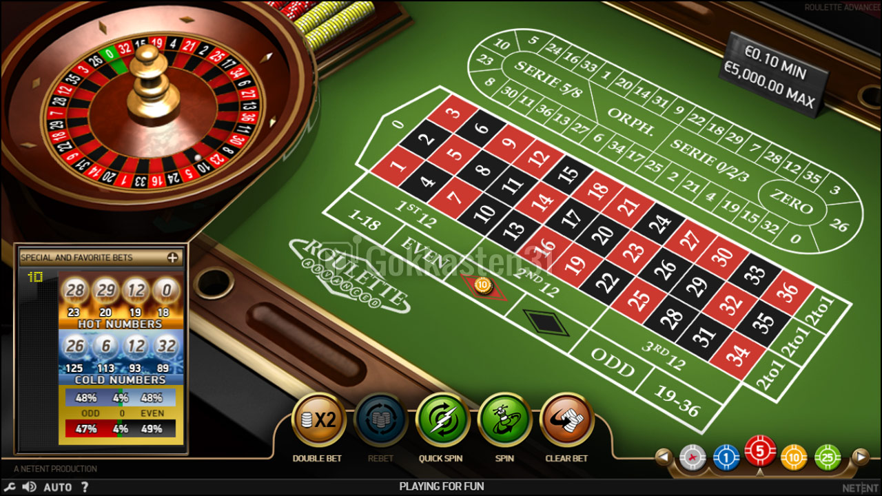 Roulette Advanced screenshot