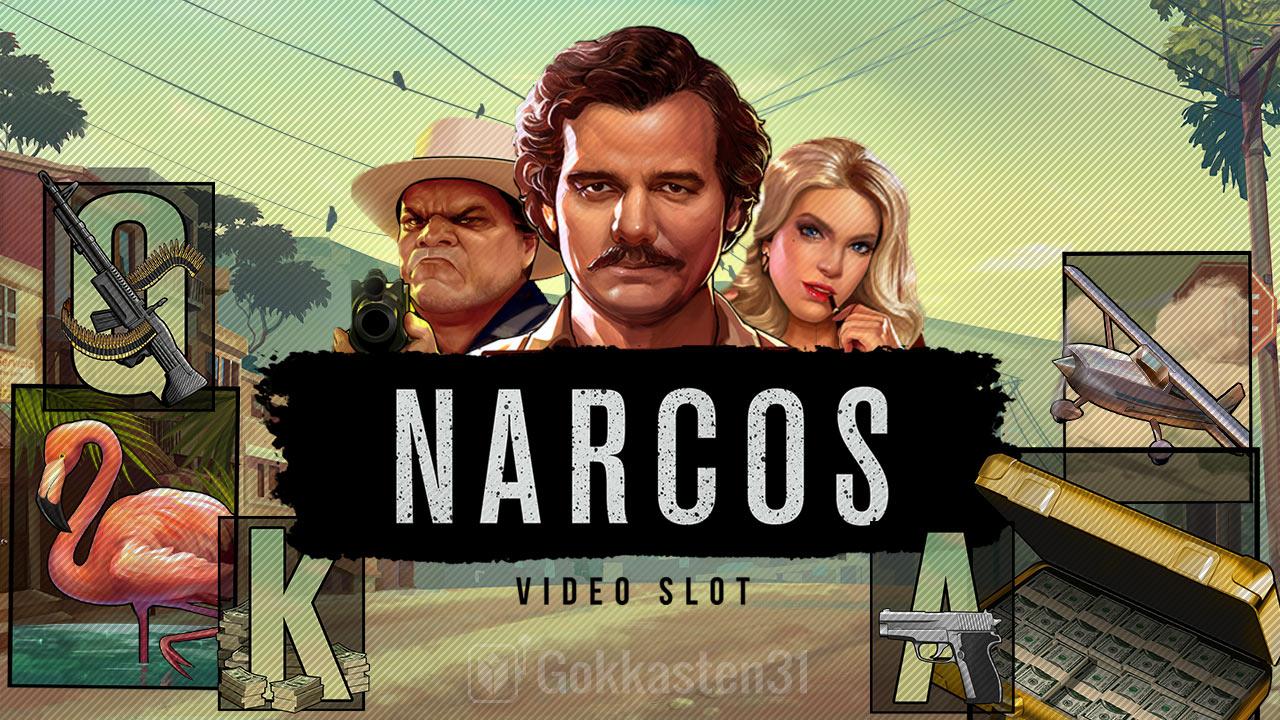 narcos gokkast banner