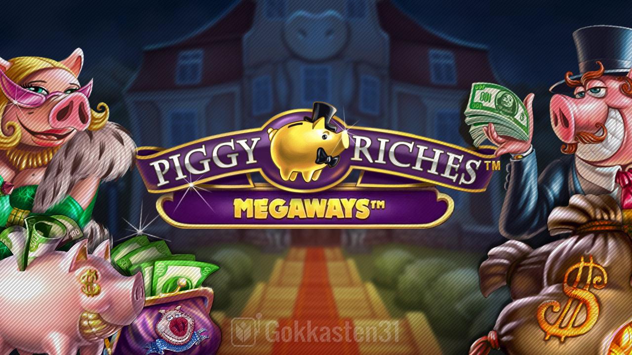 piggy riches megaways gokkast banner
